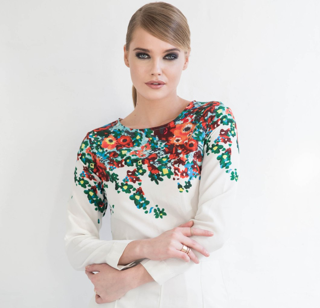 Michelle in floral